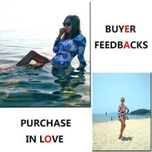 2017 Print Floral One Piece Swimsuit Long Sleeve Swimwear Women Bathing Suit Retro Swimsuit Vintage One-piece Surfing Swim Suits