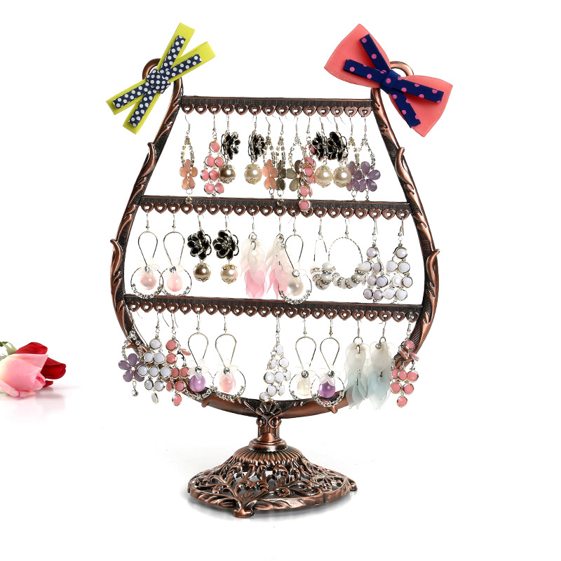 Jewelry Display Jewelry Holder Jewelry Storage Earring Display Stand for Earrings Ring Display Ring Holder