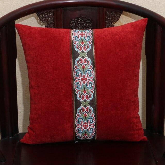 Modern Patchwork Lace Pillow Cushion Covers For Sofa Seat Chair 45 50 60cm  European Lumbar Cushion
