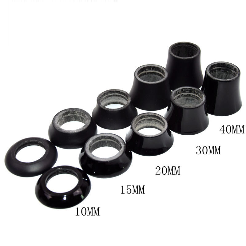 """1pcs Alu Bike Bicycle 28.6mm Conical Tapered Taper Stem Headset Spacer 1-1//8/"""""""