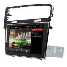Android 5.1 estéreo Del Coche de Radio de VW Golf 7 2013-2015 Navegación GPS Reproductor de Audio y Vídeo