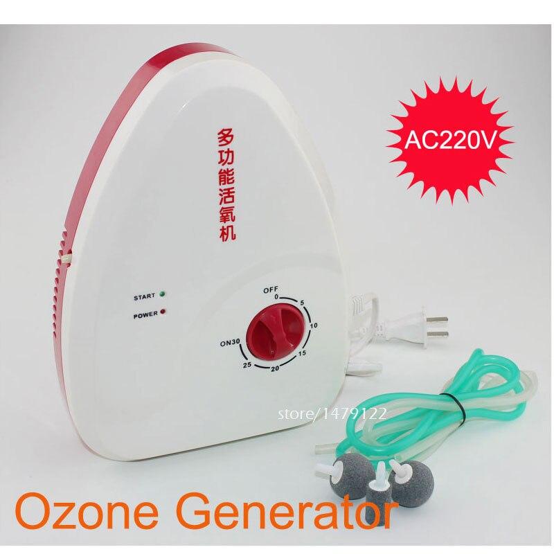 Purificateur d'air pour ozoniseur domestique AC220V 18 w, générateur d'ozone d'eau 400 mg/H appliquer aux fruits légumes/tuer la bactérie stérilisant