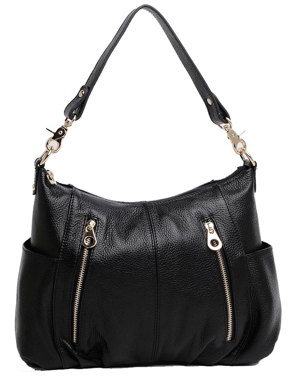 ФОТО Luxury Women Genuine Leather Casual Tote Bag Mochila Feminina Cow Handbag Shoulder Bag Solid Bigs Capacity Female Bags Female