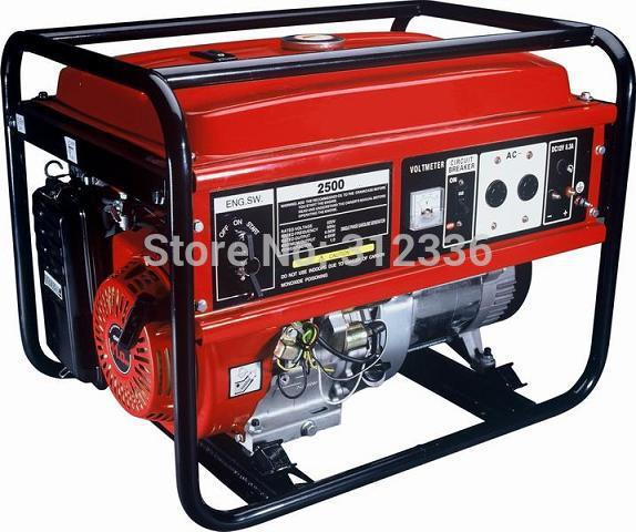 US $616 99 29% OFF Free shipping 2500 2kw unit price mini generator price  168 GX200 key start OHV 6 5hp-in Gasoline Generators from Home Improvement