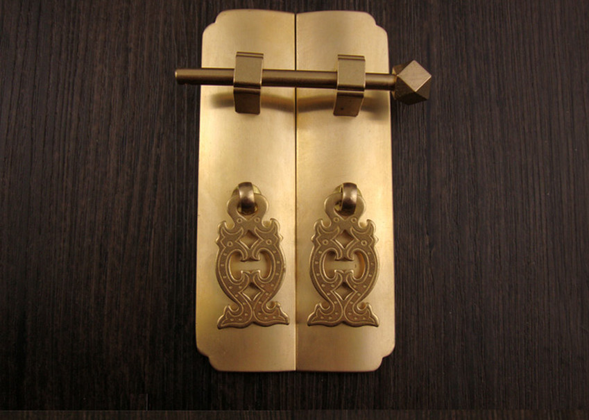 ... Ming And Qing Dynasty Furniture, Copper Fittings, Cabinet, Door, Brass  Handle In Door Handles From Home Improvement On Aliexpress.com | Alibaba  Group