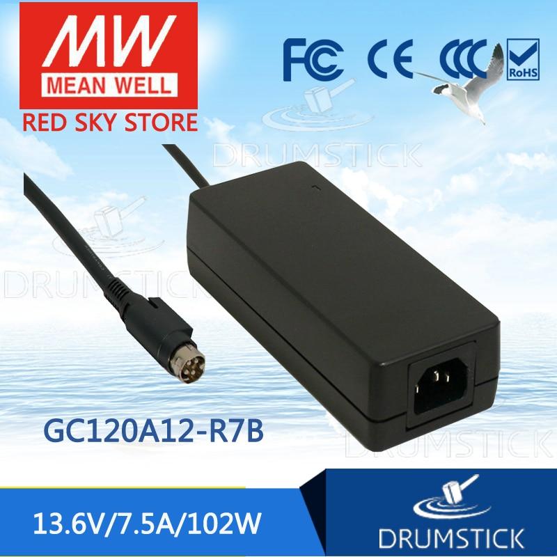 MEAN WELL GC120A12-R7B 13.6V 7.5A meanwell GC120 13.6V 102W Single Output Battery ChargerMEAN WELL GC120A12-R7B 13.6V 7.5A meanwell GC120 13.6V 102W Single Output Battery Charger