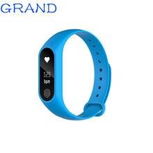 M2 плюс Водонепроницаемый Смарт-часы монитор сердечного ритма шагомер анти-потерянный напоминание Bluetooth 4.0 Смарт Браслет 4 цвета