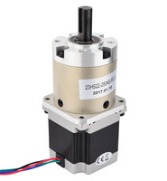 Nema 23 Geared Stepper Motor 2.6V Gear ratio 15:1 planetary reduction gearbox 1.8 deg 2.8A 60*60*116mm stepper gear for cnc