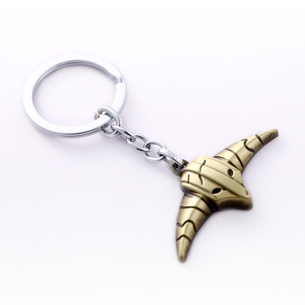 12pcs/lot DOTA 2 Key Chain Rogue Knight sven Key Rings For Gift Chaveiro Car Keychain Jewelry Game Key Holder Souvenir