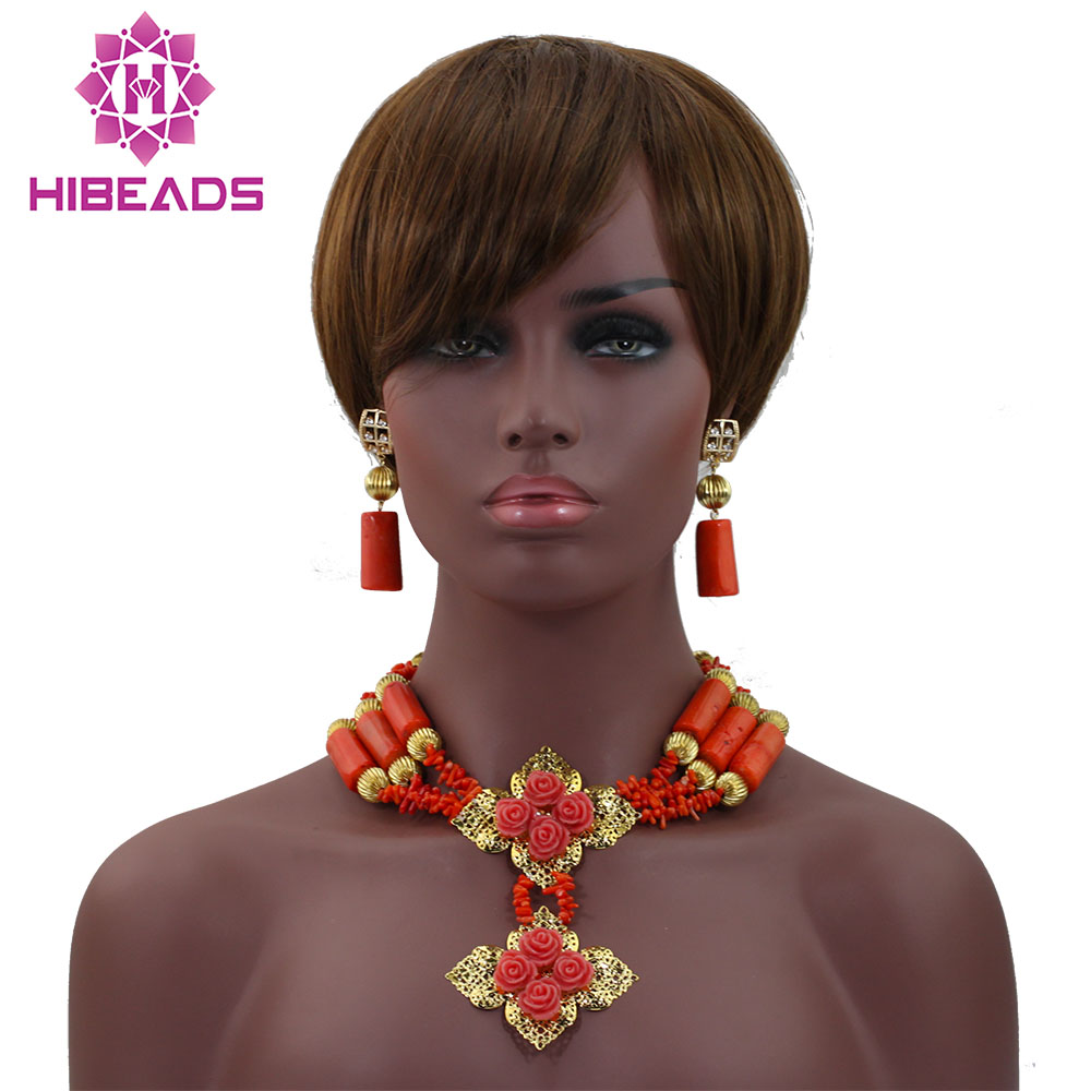 Free Shipping! Fashion Design African Coral Beads Bridal Jewelry Set Elegant coral Wedding Jewelry Set HX550Free Shipping! Fashion Design African Coral Beads Bridal Jewelry Set Elegant coral Wedding Jewelry Set HX550