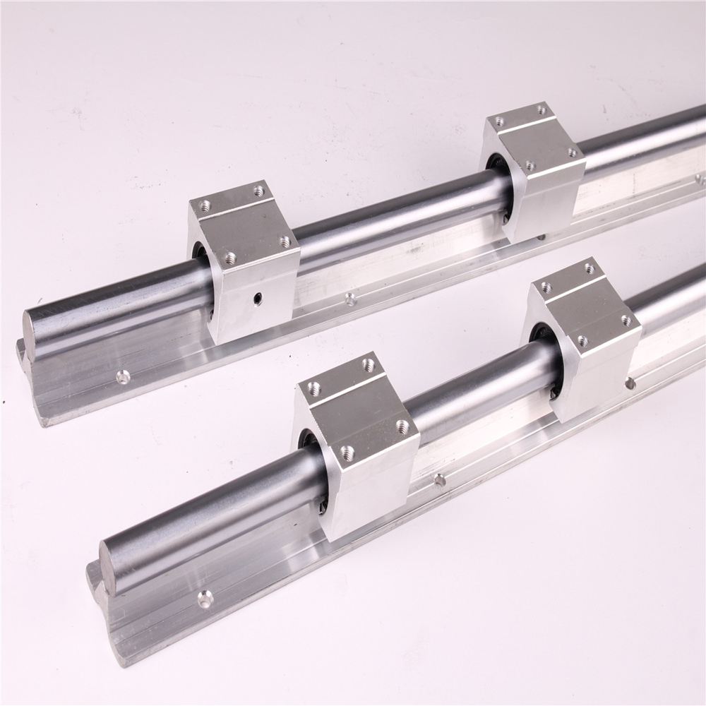 Image 4 - 2pcs SBR20 200 2000mm Linear Guide Rail and 4pcs SBR20UU Linear Bearing Blocks for CNC parts 20mm Linear Rail-in Linear Guides from Home Improvement