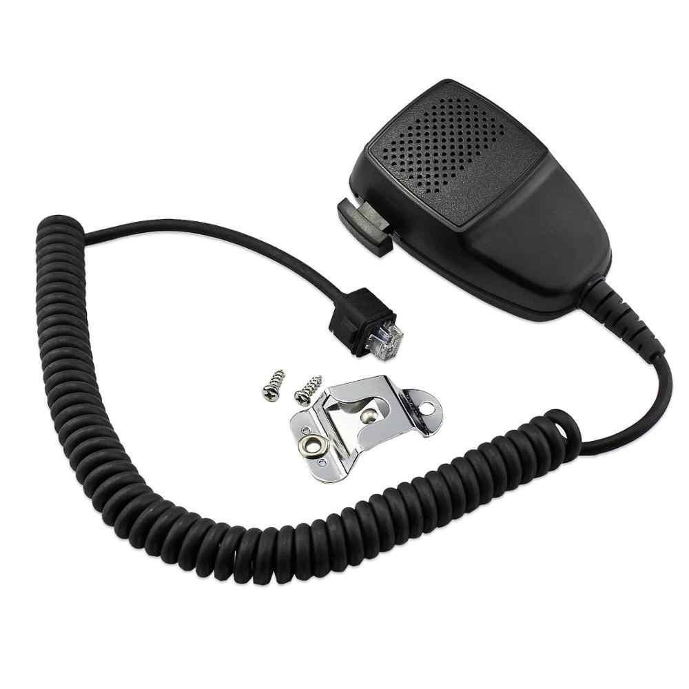10 piezas 8 Pin altavoz micrófono PTT para Motorola GM300 GM340 CM160 CM200 CM300 EM200 Radio móvil PRO5100 CDM750 CDM1250