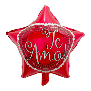 Image 4 - 10ピース/ロット18インチスペインte amo箔風船母の日ハート形ヘリウム空気グロボスの装飾のバレンタイン日用品baloes