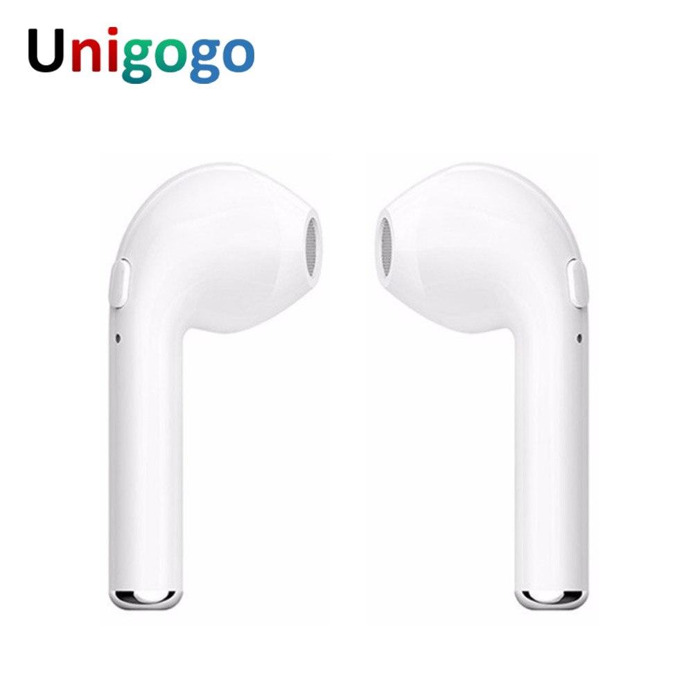 I7S TWS Ohrhörer Wahre Wireless Headset Freisprecheinrichtung Bluetooth Kopfhörer Blutooth Kopfhörer Twins Ohrhörer für iphone Xiaomi huawei