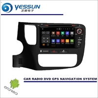 YESSUN Car Multimedia Navigation For Mitsubishi Outlander 2012~2016 CD DVD GPS Player Navi Radio Stereo Screen Wince / Android
