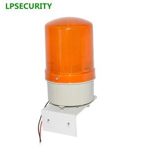 LPSECURITY-Lámpara LED estroboscópico intermitente para exteriores, luz de alarma intermitente, baliza de persiana para motores de apertura de puerta de emergencia (sin sonido)