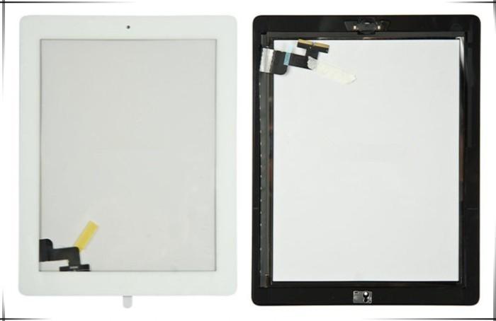 2 шт./лот сенсорная панель стеклянный экран планшета + домашняя кнопка + 3 м клей для iPad2 с