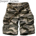 2017 New Summer mens casual army camo cargo shorts cotton Short pants military camouflage fashion shorts men beach shorts 71