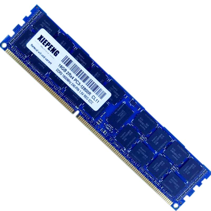 Memory 32GB 4Rx4 PC3-12800R ECC REG 16GB DDR3 1333 1600MHz RAM for Dell PowerEdge M520 M420 M820 M910 M915 R310 R320 R420 Server image