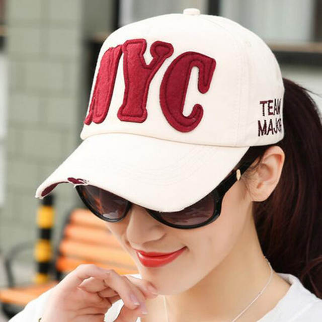 8 Colors Men s Women s Baseball Cap Letter NYC Hat Brand Casual Snapback  Casquette Drake Hats Full 769a3a6bb4