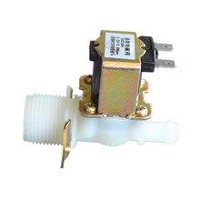 """3/4 """"-12mm válvula solenoide 12Vdc válvula de agua de la lavadora de entrada Envío gratuito"""