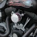 Nova Prata Kit Sistema de RC Air Filter Cleaner Intake para Harley Sportster XL883 XL1200 Personalizado Frete Grátis