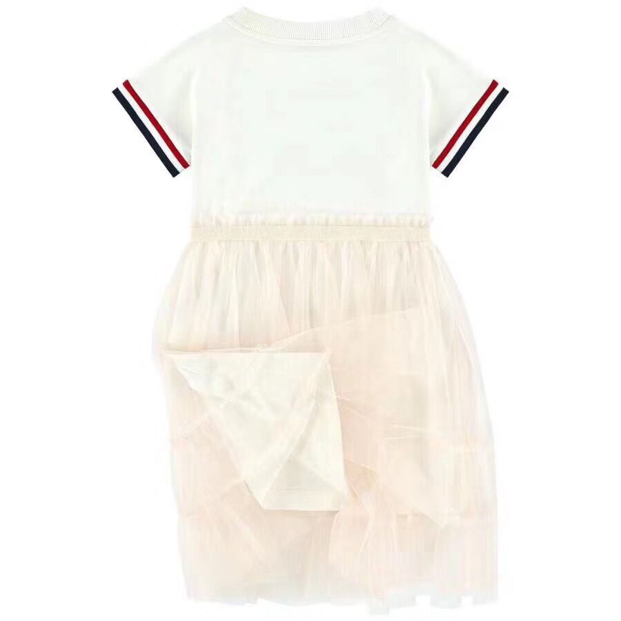 2019 newest high quality brand 90 150 Girls Solid Dress For Girls Cusual Dresses Party Dress