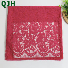 Embroidery Lace Fabrics Cotton Cord French Lace Fabric