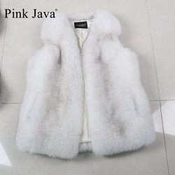Pink java qc8004 new arrival natural real fox fur vests for women winter outfit on sale.jpg 250x250