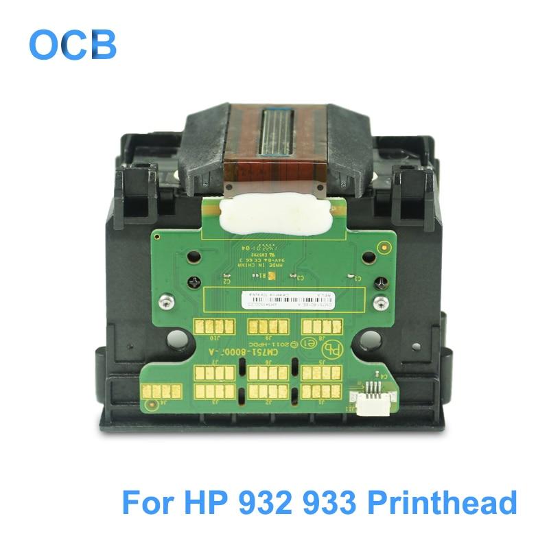 CB863-80013A CB863-80002A 932 933 932XL 933XL Printhead Printer Print head For HP 6060e 6100 6100e 6600 6700 7110 7600 7610 7612 932xl 933xl 932 933 printhead for hp officejet pro 6100 6600 6815 6700 7610 7110 printer head for hp 932 hp933 printhead