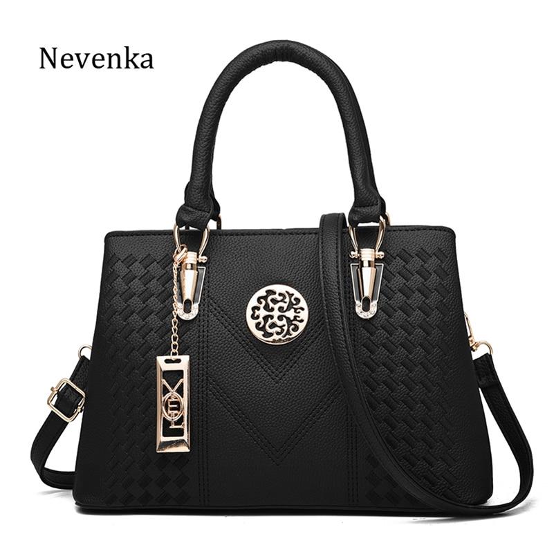Nevenka Luxury Women Leather Handbags Large Capacity Shoulder Bag Women Large Capacity Messenger Bag Women sac a main Summer Bag тканевый пенал large capacity bag