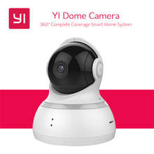 YI Dome Camera Pan / Tilt / Zoom Wireless IP Indoor Security Surveillance System 720p HD Night Vision, Remote Monitor with iOS, Android App – Cloud Service Available