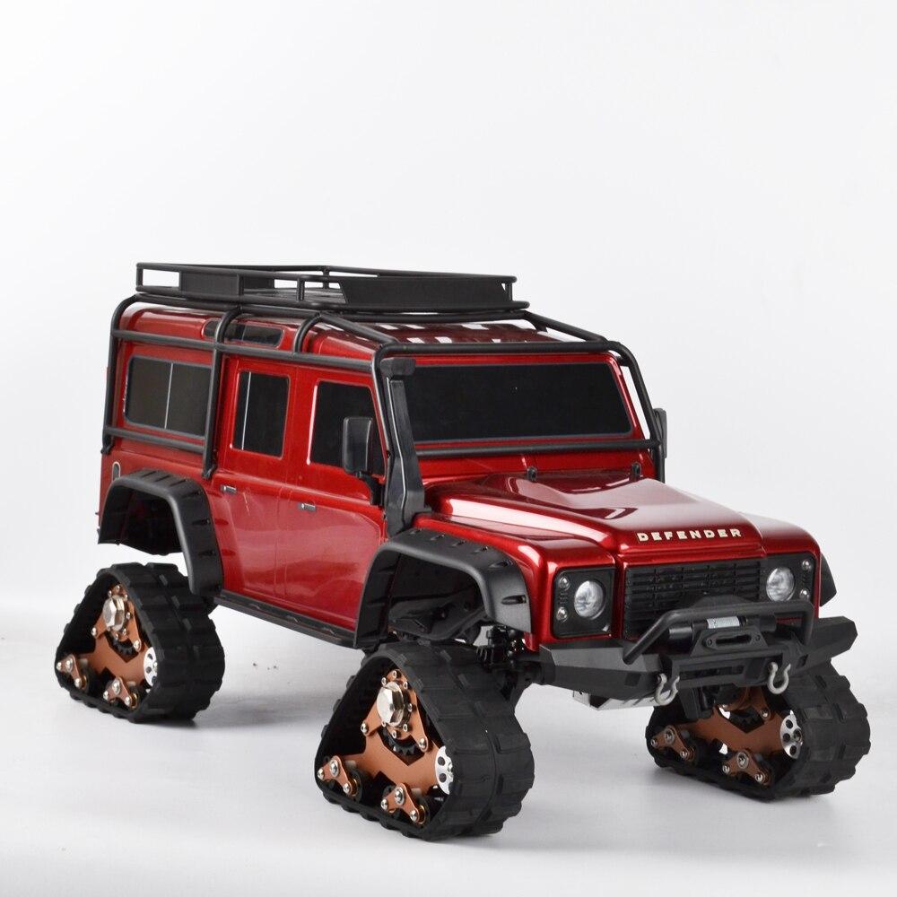 1/10 RC pistes roue Sandmobile Conversion pneu de neige pour Traxxas Trx4 TRX-4 RC chenille