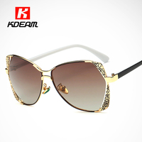 Blue White Porcelain Polarized Sunglasses Women Butterfly Shades Rose Glasses Driving For Lady Gafas De Sol