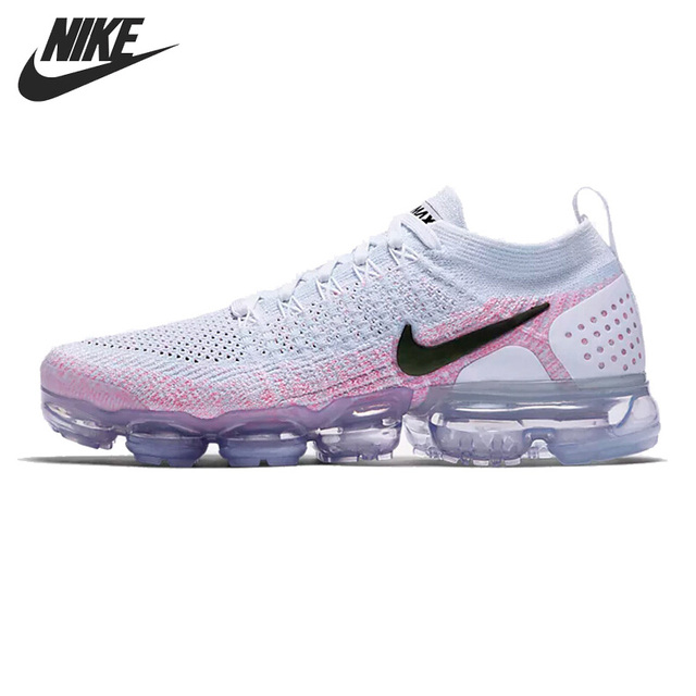Original New Arrival 2018 NIKE AIR VAPORMAX FLYKNIT Men s Running Shoes  Sneakers -in Running Shoes from Sports   Entertainment on Aliexpress.com  5e0101513b3f