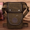 Men Canvas Waist Drop Leg Fanny Pack Belt Hip Bum Travel Famous Motorcycle Brand Ride Messenger Shoulder Military Riding Bag