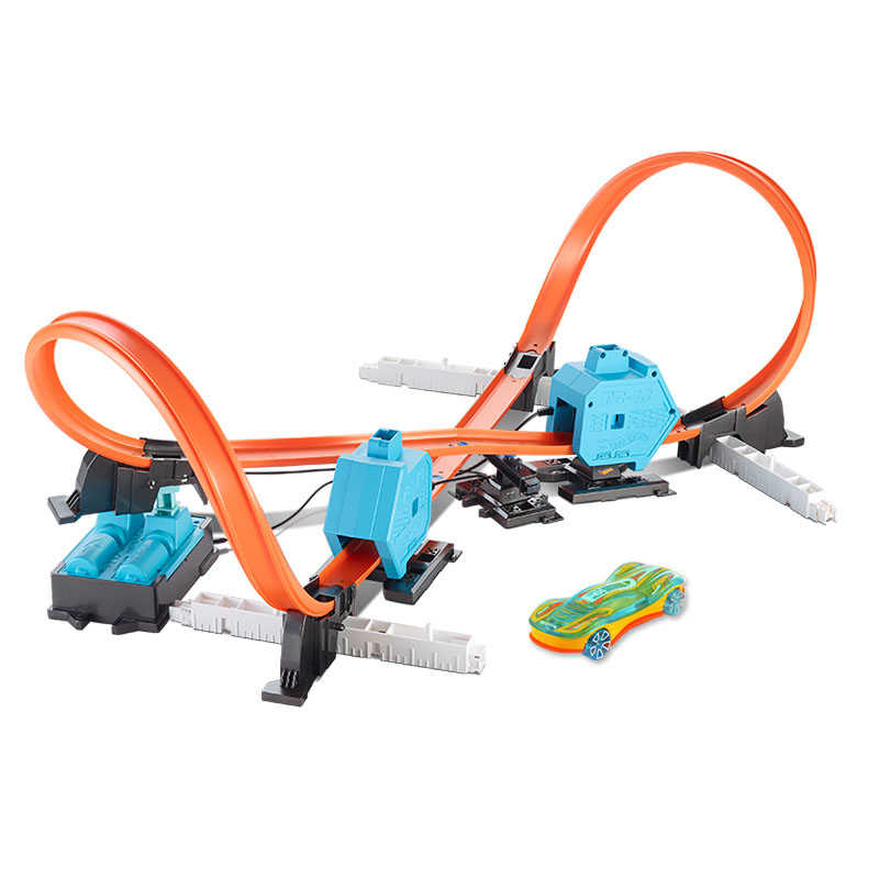 Hot-Wheels-Roundabout-Track-Toys-Model-Cars-Classic-Power-Booster-Kit-Toy-Car-Birthday-Gift-For (3)