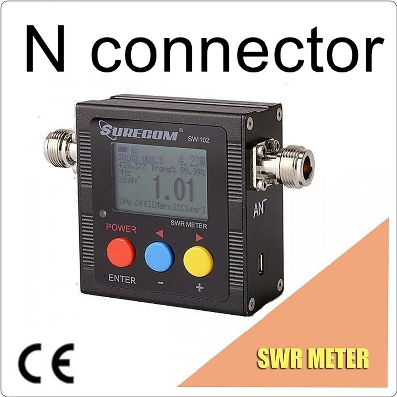 SURECOM SW 102 SW102 vswr 125 520MHz meter with frequency counter power meter 409shop product