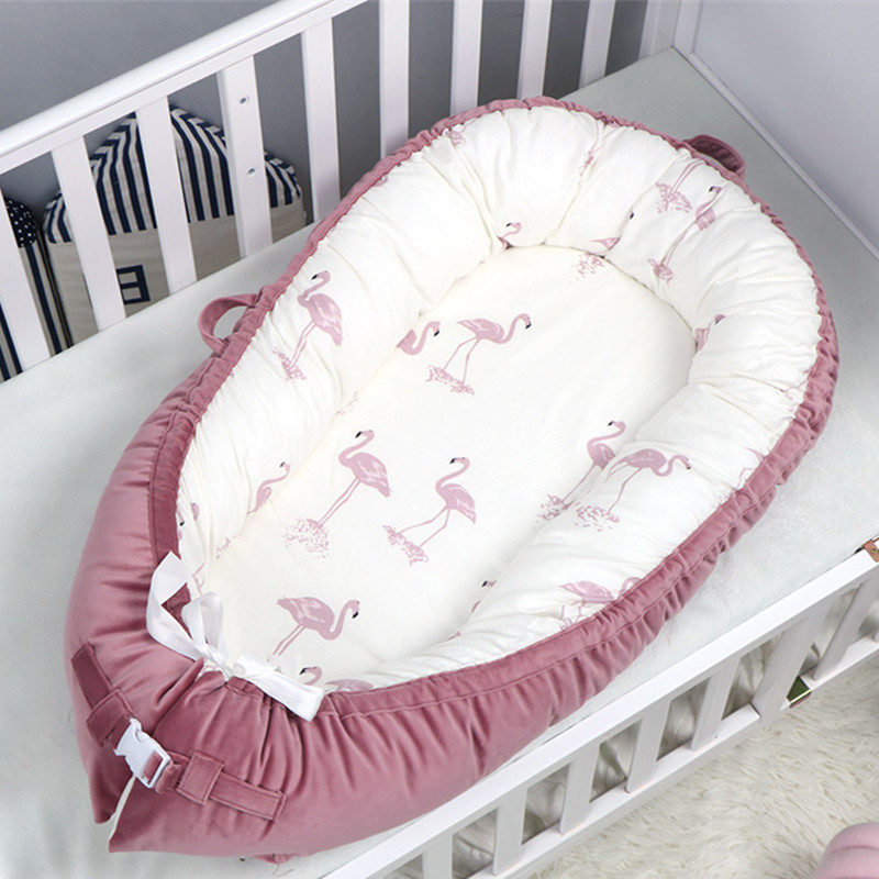 Four Seasons Universal Baby Crib American Bionic Uterus Bed Baby Bed Cotton Anti-fall Bed Fast Delivery