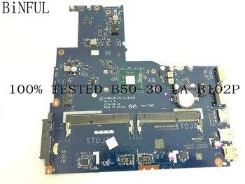 BiNFUL BRAND NEW , LA-B102P FIT FOR LENOVO B50-30 MOTHERBOARD. ONBOARD PROCESSOR ( NO fingerprint connector )