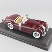 Brand mini 1/24 Scale metal 1951 Jaguar XL 120 Roadster vintage car die cast styling models cars free wheels auto toys for boys стоимость