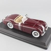 Marca mini 1/24 in metallo Scala 1951 Jaguar XL 120 Roadster vintage car die cast modelli di stile auto ruote libere auto giocattoli per ragazzi