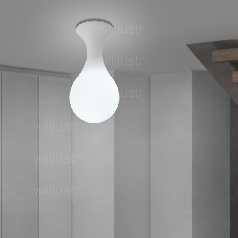 Image 3 - Next Drop Ceiling Lamp Constantin Wortmann Design Home Collection Light Glass Shade Liquid Drop Bowling Foyer Doorway Lighting-in Ceiling Lights from Lights & Lighting