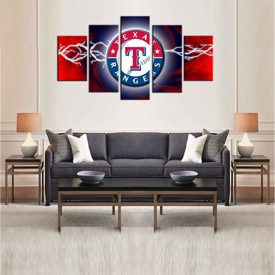 3d abstract wall paintings promotion shop for promotional 3d team logo canvas print for living room decor poster giclee wall art 3d wall art oil painting abstract american football team