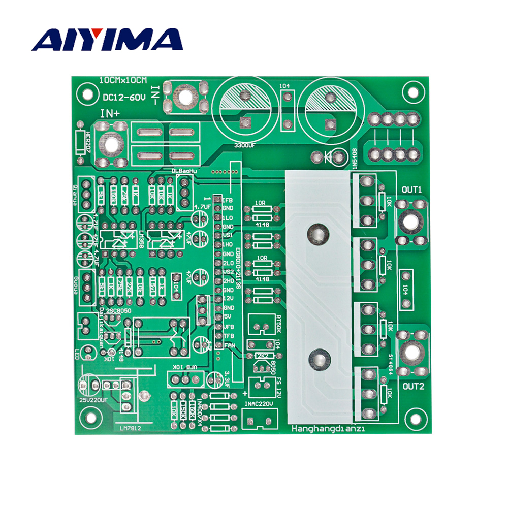 Aiyima Pure Sine Wave Inverter Power Frequency Board 1000w 2000w Circuit Homemade Designs Just For You Empty Multi Function Bare