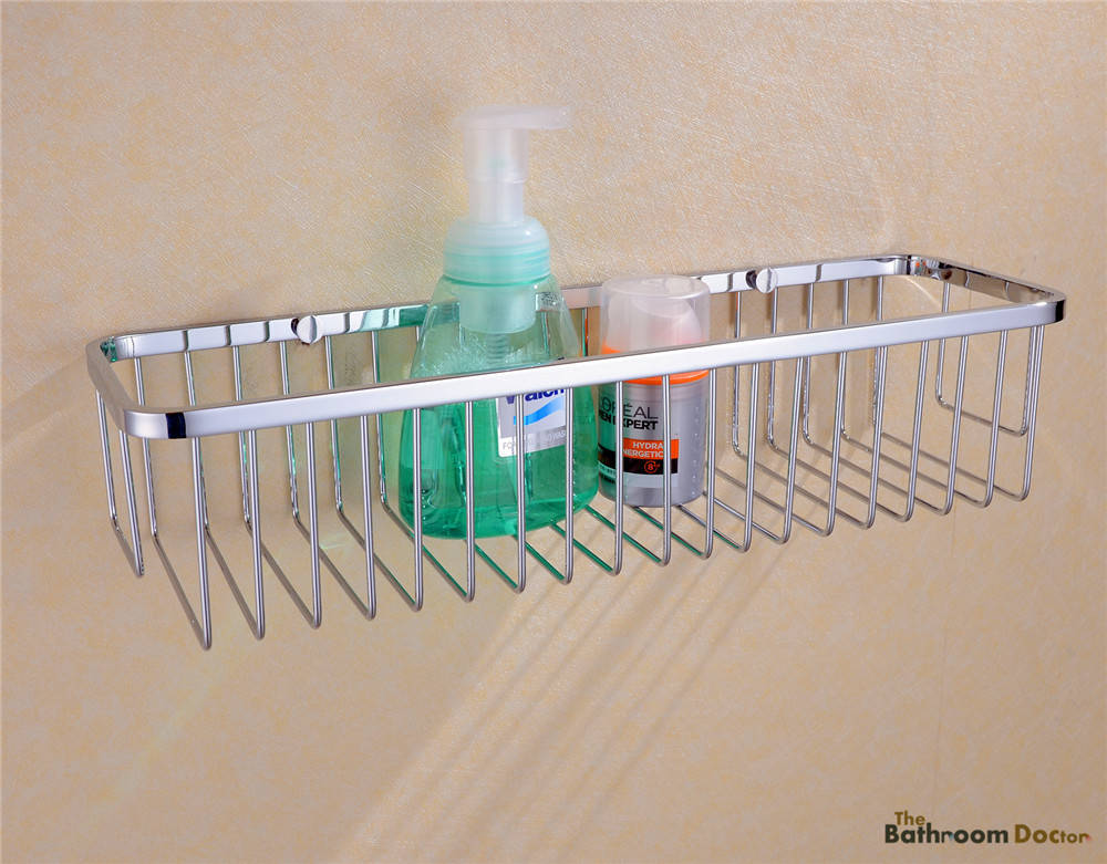 Badkamer Accessoires Rvs : Badkamer accessoires rvs douche draad muur mand opslag planken