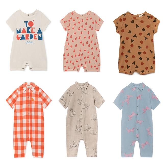 2043780b76e8 Aliexpress.com   Buy Newborn Baby Rompers Bobo Choses 2019 Summer ...
