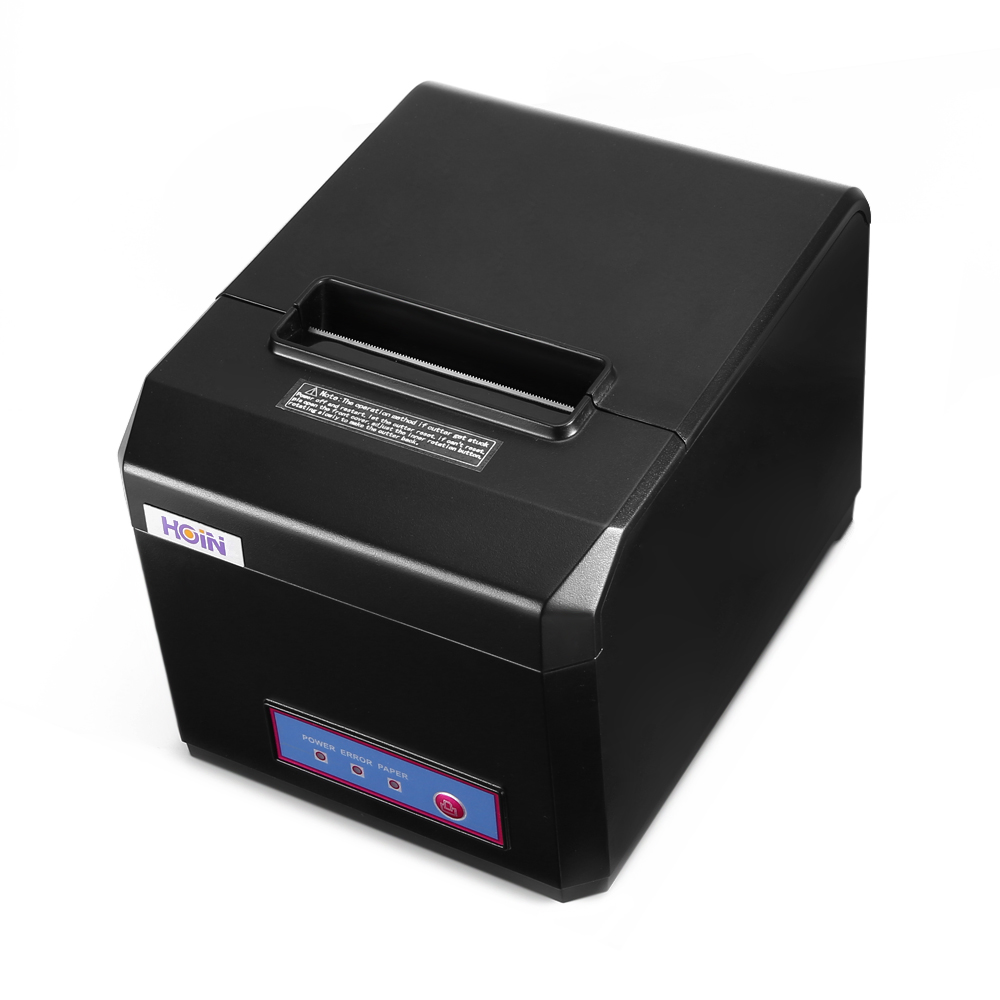 HOIN HOP - E801 Thermal Printer Receipt Machine Bar Code Tagger 80mm/sec High-speed Print POS USB Connection худи print bar detective