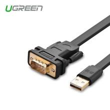 Ugreen Cable Adaptador convertidor Serie USB a RS232 DB9 con Chipset FTDI sin taladro para Win8.1/8, Compatible con 8/7 Abov