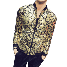 dc3c816fe6dae Buy black and gold blazer men clothing and get free shipping on ...